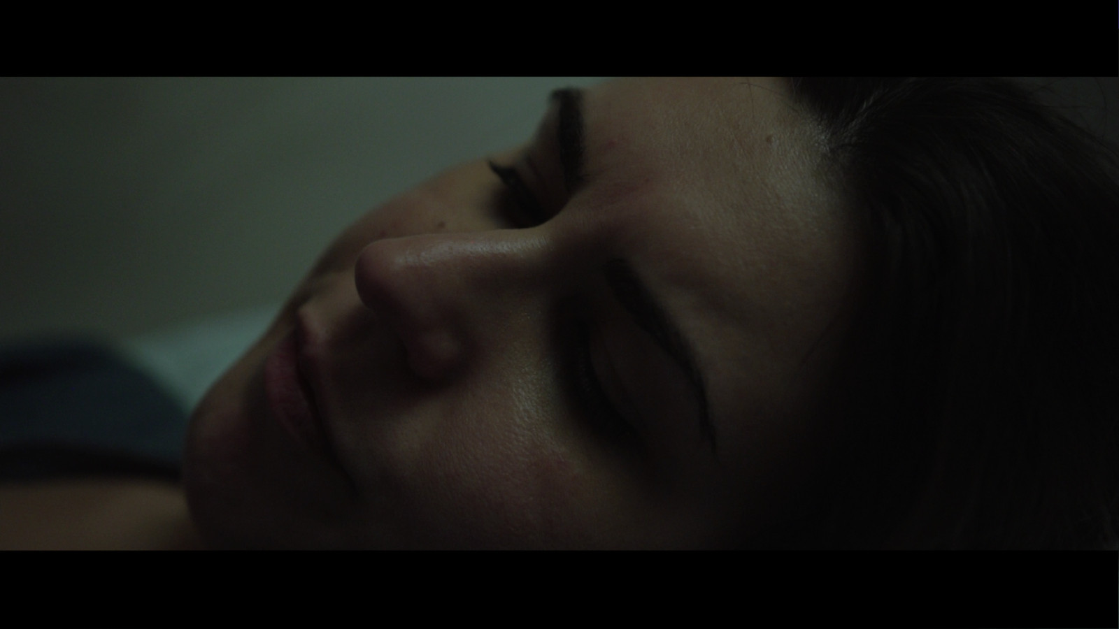 Still from Fresh Media Productions short film Trapped about domestic violence of actress Gaia Poli