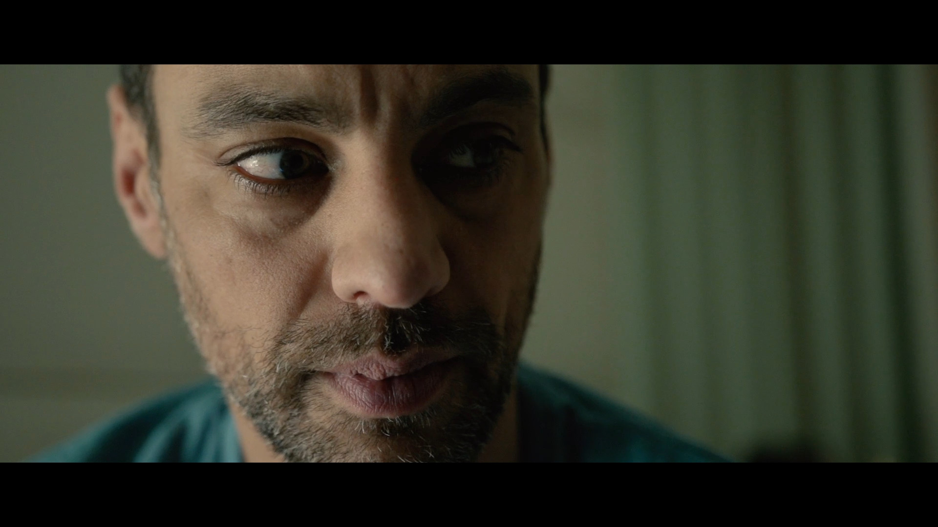 Still from narrative short film Trapped which centres around domestic violence, featuring actor Malcolm Jeffries, shot by Movement Films' own Matthias