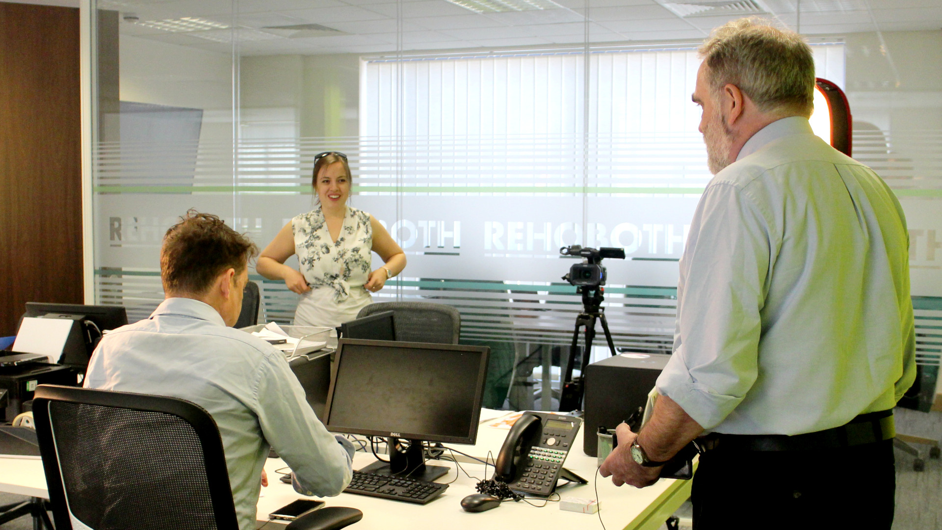 Behind the scenes image from Movement Films narrative commercial Bentleys of York: We Can Fix It