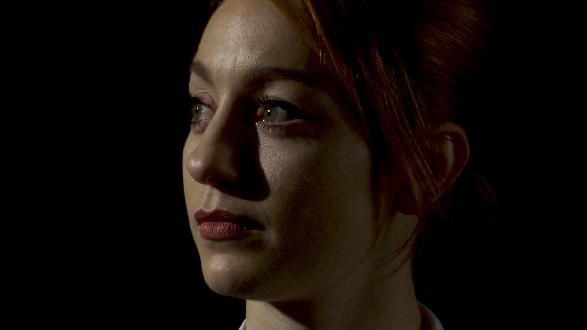 Still from short film Big Blind of actor Leah Cunard