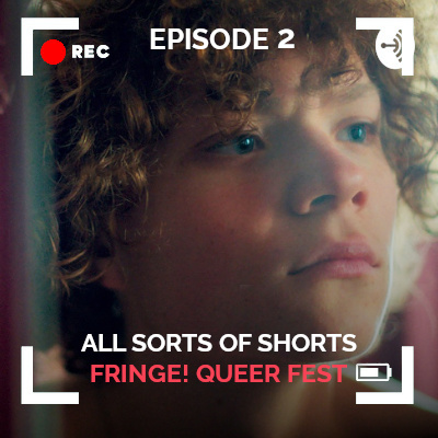 Thumbnail for All Sorts of Shorts episode 2 Queer Fringe Festival with still from Sirene short film