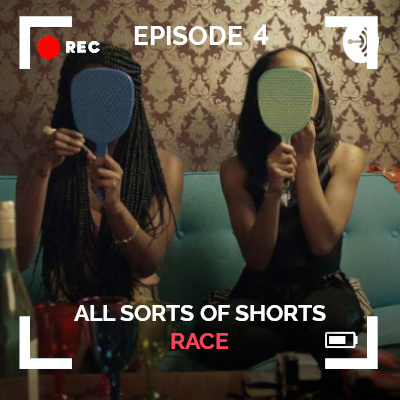 Thumbnail for All Sorts of Shorts episode 4 race with still from Night short film