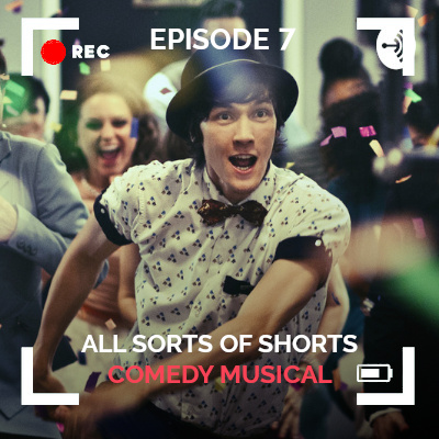 All Sorts of Shorts episode 7 thumbnail Comedy Musicals with still from Today's the Day