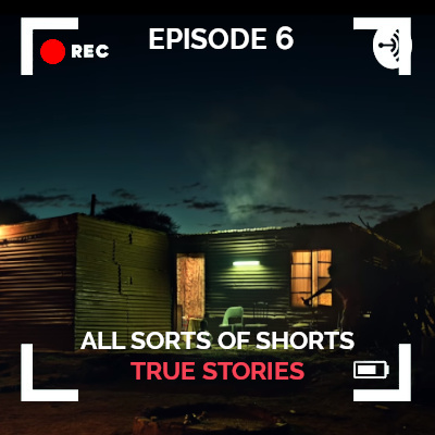 All Sorts of Shorts Podcast episode 6 True Stories thumbnail showing true story short film Sides of a Horn