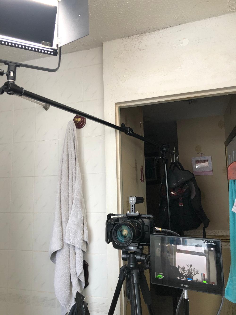 BTS from BMPCC4K test shoot