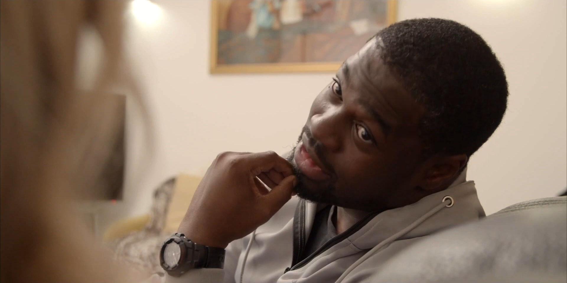 Still from short film Fraudsters featuring Trésor Cédric, produced by Fresh Media Productions