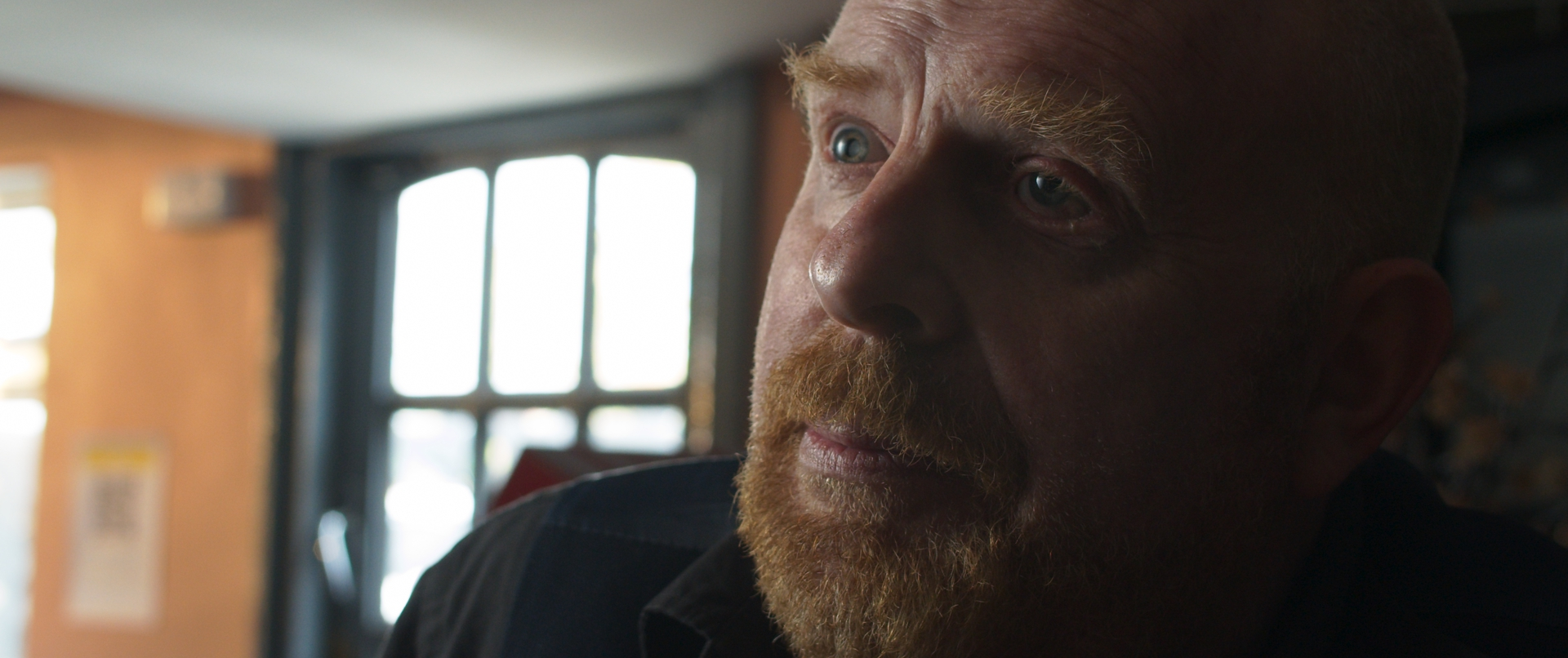 Still from short film True Purpose directed by Ben Sanderson starring Richard Simpson