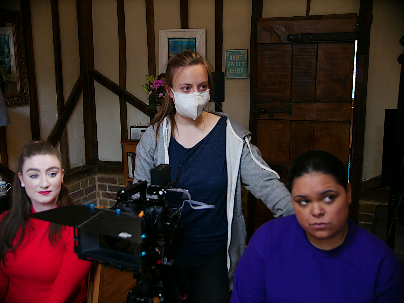 Behind the scenes photo from Movement Films production