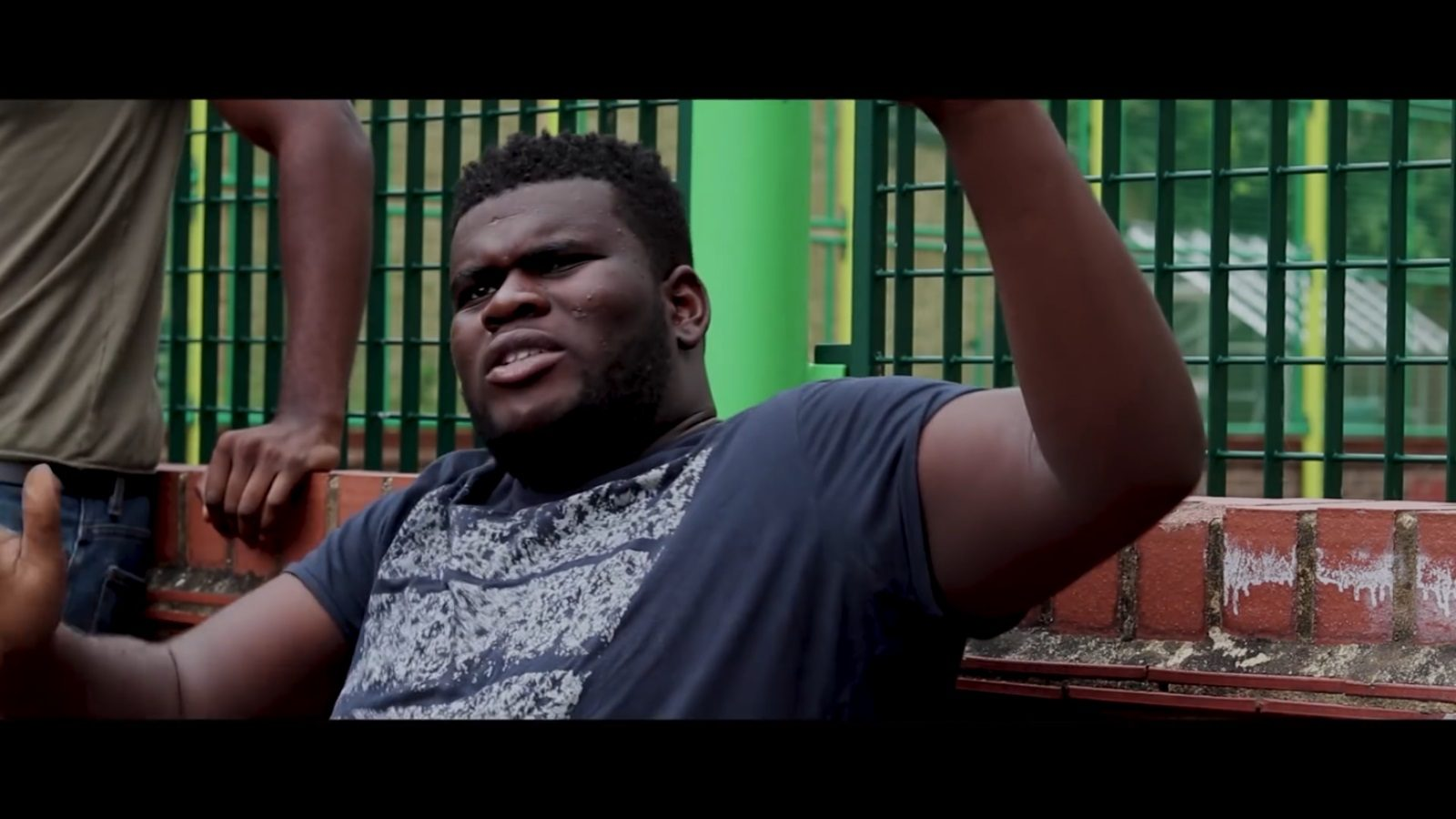 Still from Nort3y Productions short film Beat N' Delete of actor Caleb Adebisi