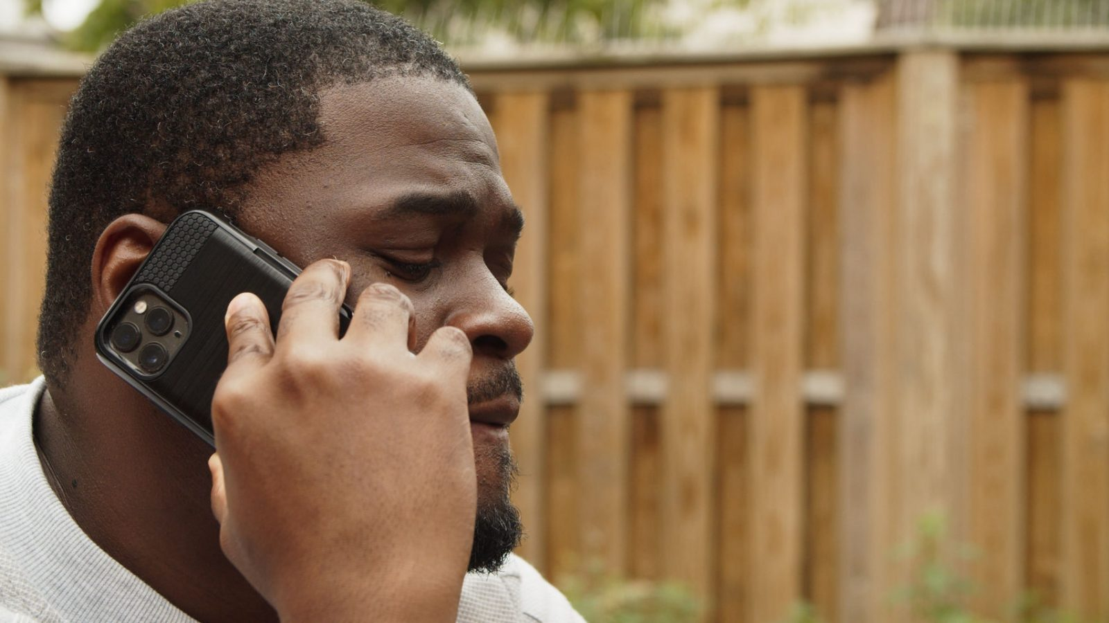 Still from short film Fraudsters' Trailer featuring Trésor Cédric, produced by Fresh Media Productions