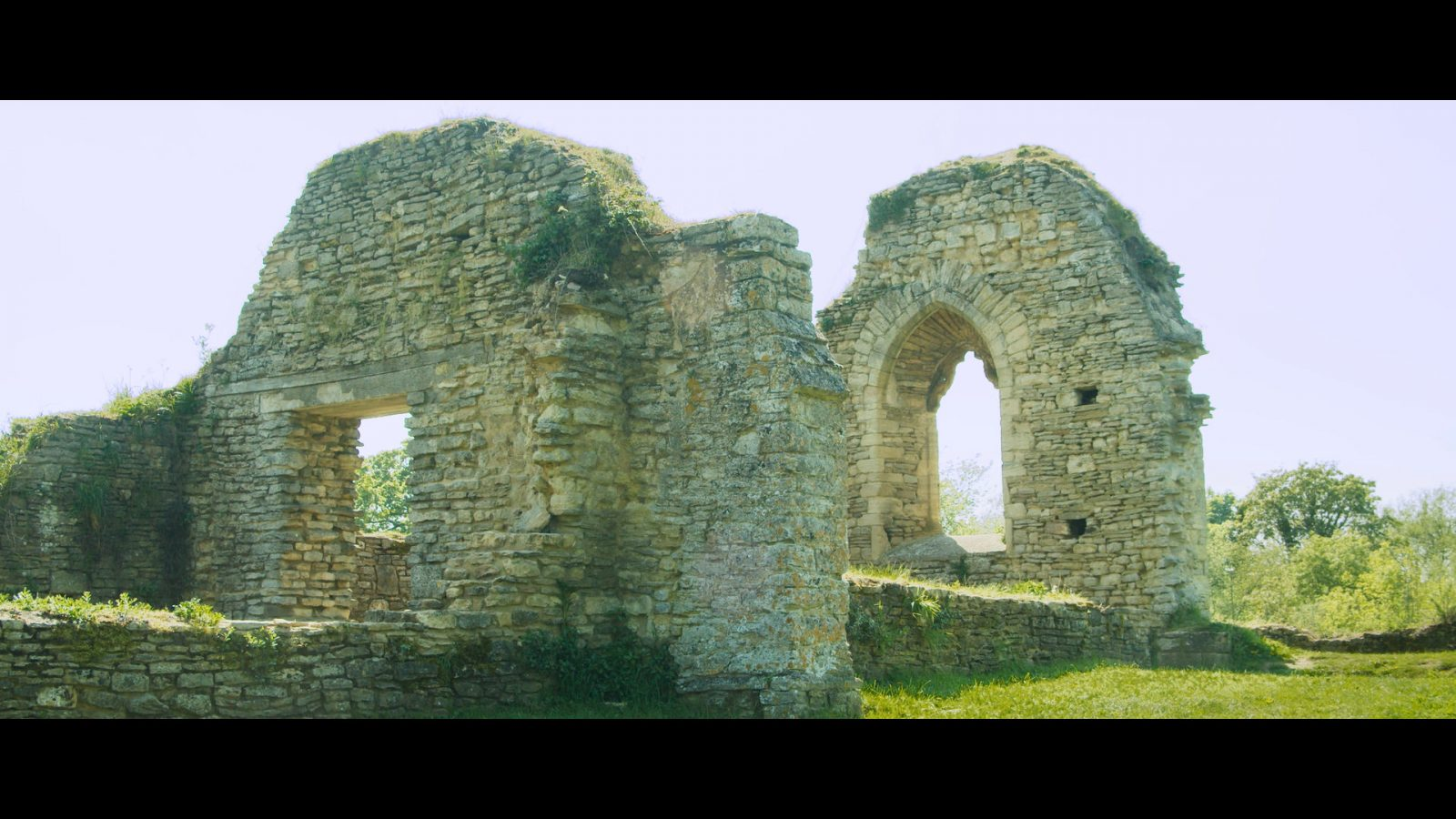 Still from Ruins of St Peter's Church Lockdown Adventures